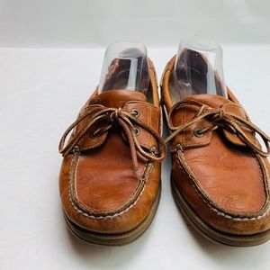 Rockport leather loafers size 9.5 Carmel tan